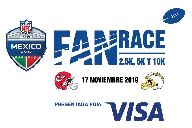 nfl fan race cdmx 2019