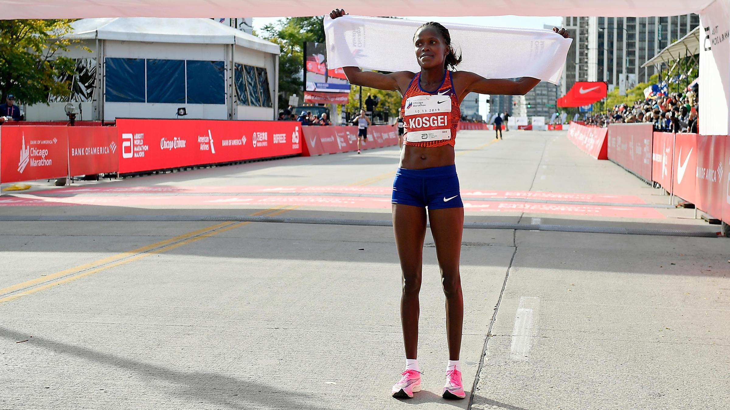 brigid kosgei record mundial chicago