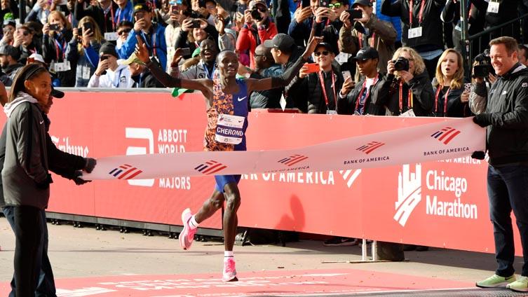 lawrence cherono chicago maraton 2019
