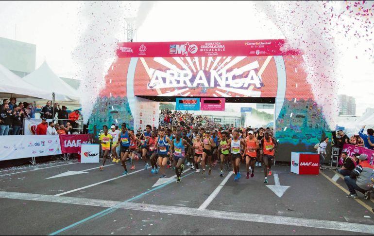 ruta maraton guadalajara 2019