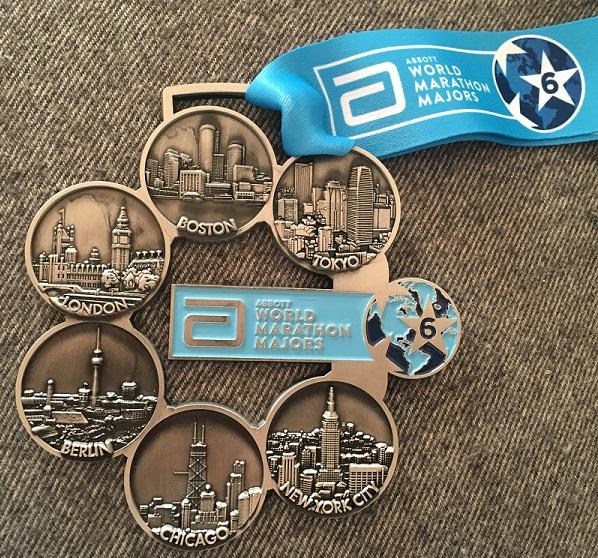 medalla six star world marathon majors