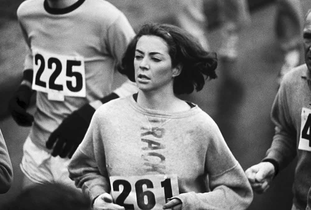 Kathy Switzer, 1967 Boston Marathon