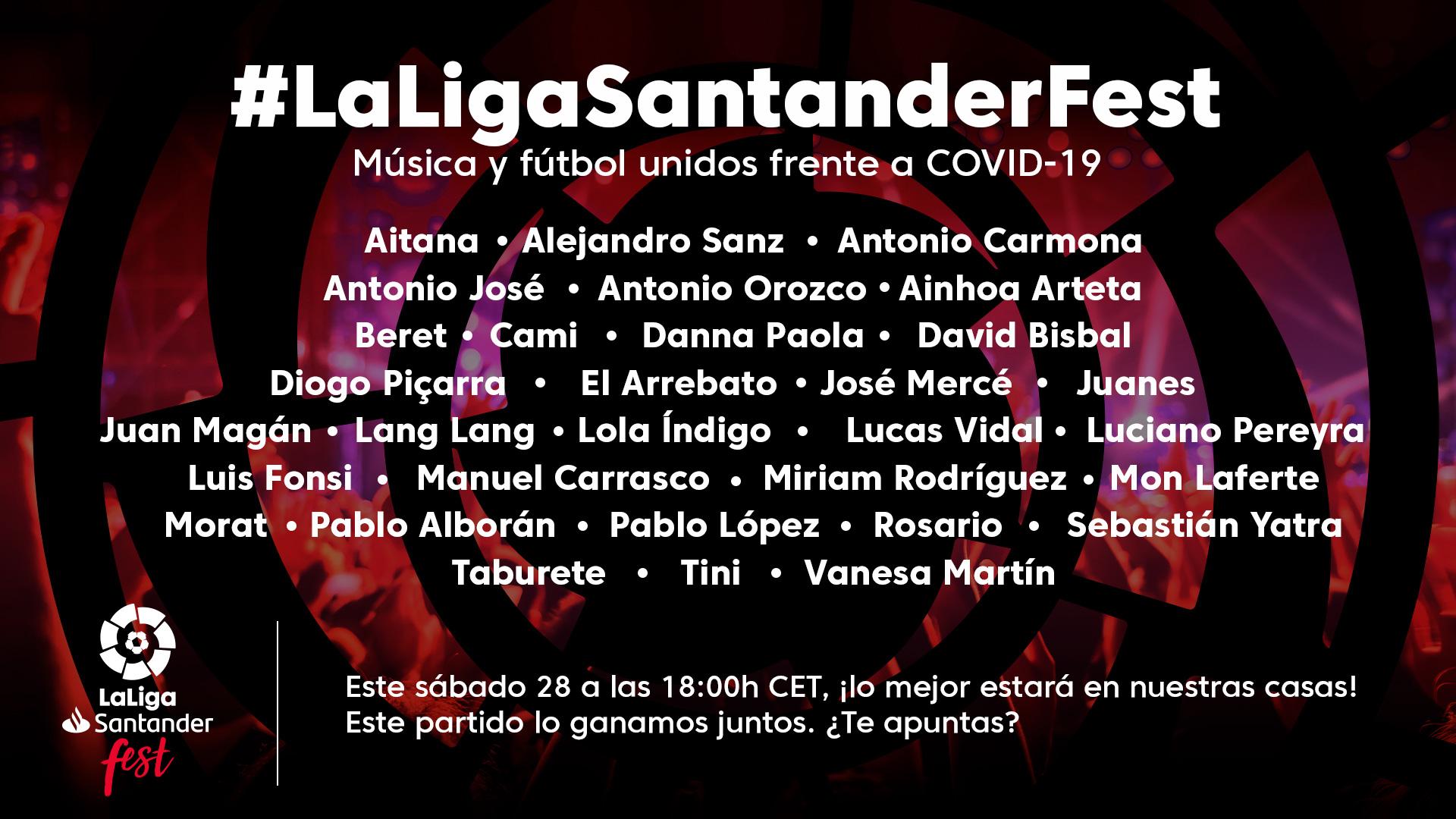 LaLigaSantander Festival la liga española
