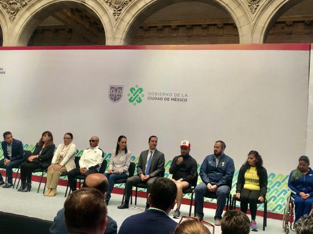 presentacion maraton ciudad de mexico 2020