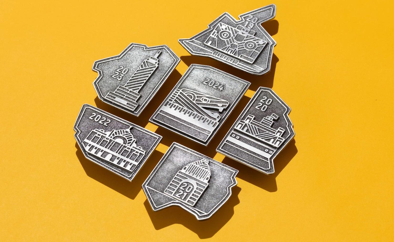 coleccion medallas maraton cdmx